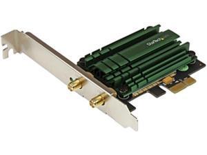 StarTech PEX867WAC22  PCI Express AC1200 Dual Band Wireless-AC Network Adapter - PCIe 802.11ac WiFi Card