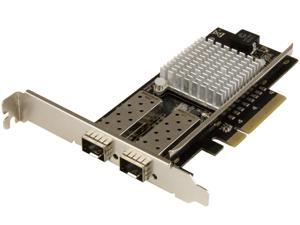 StarTech PEX20000SFPI 10G Network Card - 2 x 10G Open SFP+ Multimode LC Fiber Connector - Intel 82599 Chip - Gigabit Ethernet Card