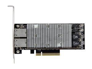 StarTech ST20000SPEXI 2-Port PCI Express 10GBase-T Ethernet Network Card - with Intel X540 Chip