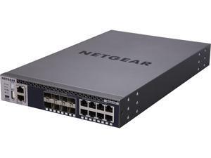 NETGEAR ProSAFE M4300-8X8F Stackable 10 Gigabit 16-Port Managed Switch (XSM4316S-100NES)