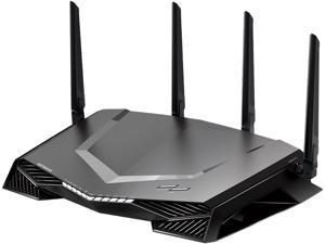 NETGEAR Nighthawk Pro Gaming Wi-Fi Router (XR500), AC2600 Dual-Band Quad Stream Gigabit, Gaming Dashboard, Geo Filter, Quality of Service (QoS), Gaming VPN Client