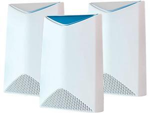The Orbi Pro AC3000 Tri-band Wi-Fi System - 2 Satellite Bundle by NETGEAR Delivers Seamless Wi-Fi for Up to 40 Users. It Provides AC3000 Wi-Fi Up to 5,000 sq. ft.