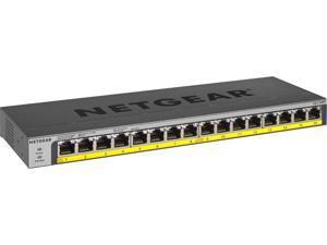 Netgear 16-Port 183W PoE/PoE+ Gigabit Ethernet Unmanaged Switch