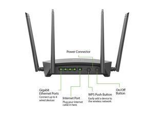 D-Link Smart AC1900 High Power Gigabit Wi-Fi Router (DIR-1950)