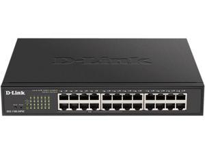 D-Link Ethernet Switch, 16 Port Easy Smart Managed Gigabit Network Internet Desktop or Rack Mountable (DGS-1100-16V2), Black