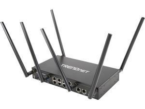 TRENDnet TEW-829DRU AC3000 Tri-Band Wireless Gigabit Dual-WAN VPN SMB Router