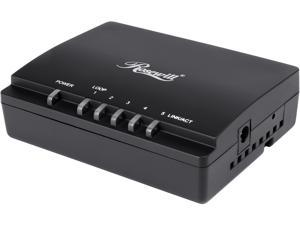 Rosewill 5 Port Gigabit Network Switch / Ethernet Switch / Desktop Switch with 9K Jumbo Frame for Home and Small Business Users (RC-409LXv2)