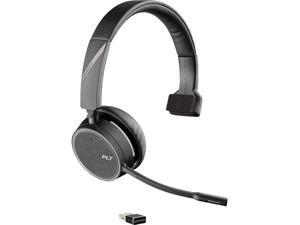 Plantronics Voyager 4210 USB-A (211317-101) Bluetooth Wireless Headset with USB Type-A Adapter
