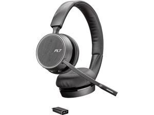 Plantronics Voyager Stereo 4220 UC Bluetooth Headset with USB Type-C Adapter