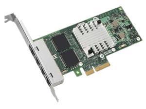 IBM 49Y4240 10/100/1000Mbps PCI-Express I340-T4 Intel Gigabit Ethernet Quad Port Server Adapter