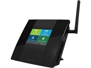 Amped Wireless TAP-R2 High Power Touch Screen AC750 Wi-Fi Router IEEE 802.11a / b / g / n / ac