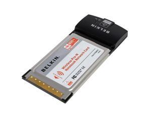 BELKIN F5D8010 Wireless Pre-N Notebook Network Card