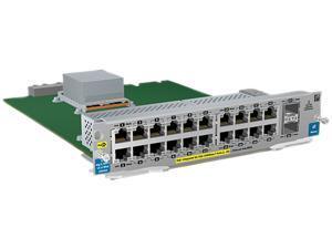 HPE 20-port Gig-T PoE+/2-port 10 GbE SFP+ v2 zl Module (J9536A)