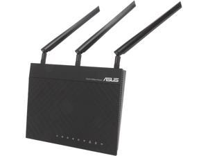 Asus Certified RT-N66R Dual-Band Wireless-N900 Gigabit Router, DD-WRT Open Source Support