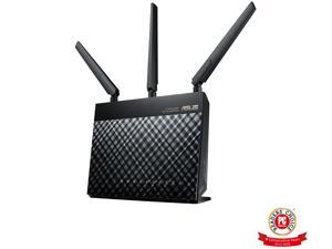 Asus AC1900 Dual Band Gigabit WiFi Router with MU-Mimo, Aimesh for Mesh WIFI System, Aiprotection Network Security Powered by Trend Micro, Adaptive Qos and Parental Control (RT-AC1900P)