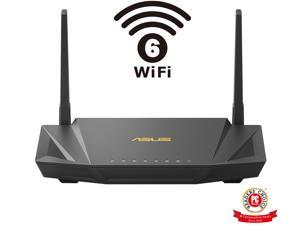 ASUS RT-AX56U AX1800 WiFi 6 Dual-Band WiFi Router, Lifetime Internet Security with AiProtection, Whole-home WiFi with AiMesh, MU-MIMO, OFDMA, VPN Setting