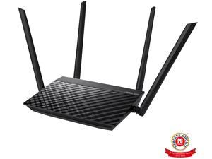 ASUS RT-AC1200GE AC1200 Dual Band WiFi Router, Parental Control, MU-MIMO, 4 x Gigabit LAN ports, VPN, Gaming & 4K Streaming