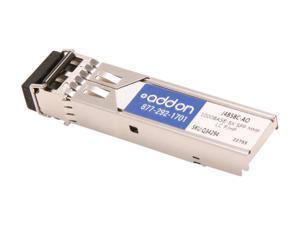 AddOn HP J4858C Compatible 1000 Base-SX SFP Transceiver (MMF, 850nm, 550m, LC)
