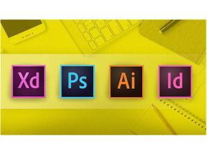 Udemy Adobe CC Masterclass: Photoshop, Illustrator, XD & InDesign