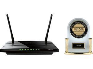 TP-LINK Archer C5 AC1200 Dual Band Wireless AC Gigabit Router, 2.4 GHz 300 Mbps+5 GHz 867 Mbps, 2 USB Ports, IPv6, Guest Network