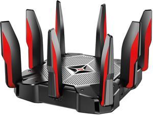 TP-LINK AC5400 MU-MIMO Tri-Band Wi-Fi Router with Comprehensive Network Security for Gaming and Entertainment (Archer C5400X)