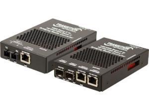 Transition Networks 10/100/1000 Ethernet Media Converter Stand-Alone