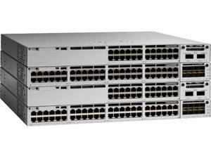 Cisco Catalyst 9300 24-port fixed Uplinks PoE+, 4X1G Uplinks, Network Advantage