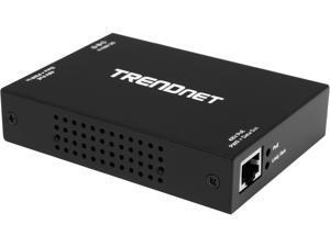 TRENDnet TPE-E100 1-port 10/100/1000Mbps PoE+ / PoE Repeater