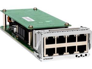 NETGEAR 8 x NBase-T/10GBASE-T PoE+ Port Card (APM408P)