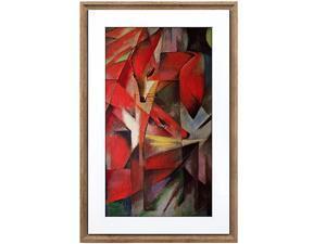 NETGEAR Meural Canvas II - the Smart Art Frame with 21.5 in. HD Digital Canvas | 16 x 24 Dark Wood Frame | Wi-Fi-Connected (MC321HW)