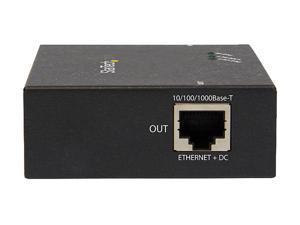 StarTech POEEXT1GAT 1-Port Gigabit PoE+ Extender - 802.3at and 802.3af - 100m (330 ft.)