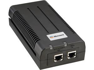 Microsemi PD-9601G/AC-US Single Port PoE Injector for Transmitting up to 95W PoH to Emerging High Power Applications