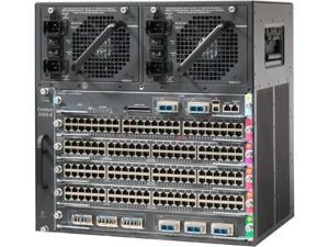 CISCO WS-C4506-E Catalyst 4506-E Switch Chassis with PoE