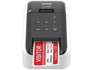 "Brother QL-810W 2.4"" Ultra-fast Direct Thermal Label Printer, USB, Wireless (b/g/n), WirelessDirect, Auto Cutter - White/Black"