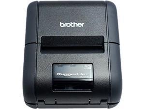 "Brother RuggedJet RJ-2050 1"" Mobile Direct Thermal Receipt / Label Printer, 203 dpi, 32 MB RAM / 32 MB Flash, USB, WiFi, Bluetooth MFi"
