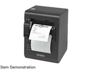 EPSON, TM-L90 PLUS LINERLESS, (LFC) 40/58/80 MM MEDIA SUPPORT, E04 ETHERNET INTERFACE, EDG, DHCP ENABLED, INCLUDES PS-180