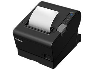 Epson OmniLink TM-T88VI-i Intelligent Thermal Receipt Printer, Serial, 4 USB Ports, Cloud Enabled, Black - C31CE94731