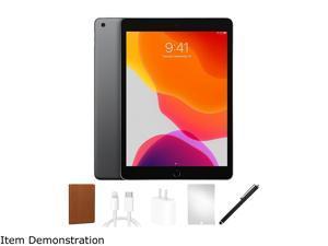 "Apple iPad 7 MW742LL/A Apple A10 Fusion 32 GB Flash Storage 10.2"" 2160 x 1620 Tablet PC (Wi-Fi) Space Gray"