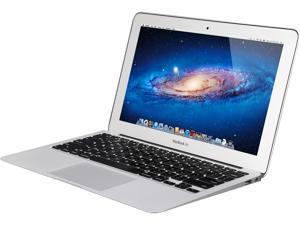 """Apple Laptop MacBook Air MC968LL/A Intel Core i5 2nd Gen 2467M (1.60 GHz) 2 GB Memory 64 GB SSD 11.6"""" Mac OS X v10.7 Lion (B Grade)"""