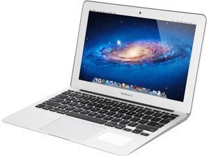 "Apple Laptop MacBook Air MD223LL/A Intel Core i5 3317U (1.70 GHz) 4 GB Memory 64 GB HDD Intel HD Graphics 4000 11.6"" - Grade B"