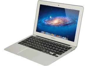 "Apple Grade B Laptop MacBook Air MJVM2LL/A Intel Core i5 5250U (1.60 GHz) 4 GB Memory 128 GB SSD Intel HD Graphics 6000 11.6"" Mac OS X v10.10 Yosemite"