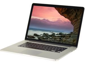 "Apple B Grade Laptop MacBook Pro A1398 (MC975LL/A) Intel Core i7 3rd Gen 3615QM (2.30 GHz) 16 GB Memory 256 GB SSD 15.4"" Mac OS X v10.10 Yosemite"