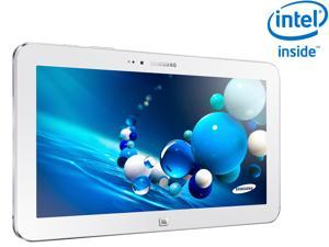 "SAMSUNG ATIV Tab 3 Intel Atom Z2760 (1.80GHz) 2GB Memory 64GB SSD 10.1"" Touchscreen Tablet with keyboard- White (XE300TZC-K01US)"