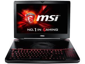"MSI GT Series GT80S TITAN SLI-274 Gaming Laptop 6th Generation Intel Core i7 6820HK (2.7 GHz) 16 GB Memory 1 TB HDD 128 GB SSD NVIDIA GeForce GTX 980M SLI 16 GB GDDR5 (8 GB each) 18.4"" Windows 10 Home"