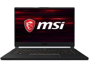 "MSI GS65 9SD-418CA Stealth 15.6"" 144 Hz Intel Core i7 9th Gen 9750H (2.60 GHz) NVIDIA GeForce GTX 1660 Ti 16 GB Memory 512 GB SSD Windows 10 Pro 64-bit Gaming Laptop"