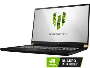 "MSI WS Series WS75 9TL-497 Mobile Workstation Intel Core i7 9th Gen 9750H (2.60 GHz) 32 GB Memory 512 GB NVMe SSD NVIDIA Quadro RTX 4000 17.3"" Windows 10 Pro 64-bit"