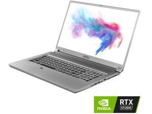 """MSI Laptop Creator 17 A10SFS-254 Intel Core i7 10th Gen 10875H (2.30 GHz) 32 GB Memory 1 TB NVMe SSD NVIDIA GeForce RTX 2070 Super Max-Q 17.3"""" 4K/UHD Mini LED Display Windows 10 Pro 64-bit"""
