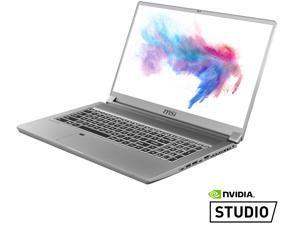 "MSI Laptop Creator 17 A10SF-257 Intel Core i7 10th Gen 10875H (2.30 GHz) 16 GB Memory 512 GB NVMe SSD NVIDIA GeForce RTX 2070 Max-Q 17.3"" Windows 10 Pro 64-bit"