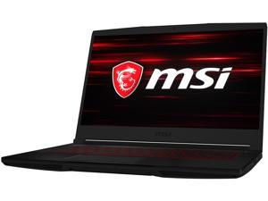 "MSI GF Series GF63 10SCXR-086CA Thin 15.6"" 60 Hz IPS Intel Core i7 10th Gen 10750H (2.60 GHz) NVIDIA GeForce GTX 1650 Max-Q 16 GB Memory 512 GB NVMe SSD Windows 10 Home 64-bit Gaming Laptop"