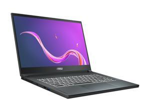 "MSI Laptop Creator 15 A10SFT-053 Intel Core i7 10th Gen 10875H (2.30 GHz) 16 GB Memory 512 GB NVMe SSD NVIDIA GeForce RTX 2070 Max-Q 15.6"" Touchscreen Windows 10 Pro 64-bit"
